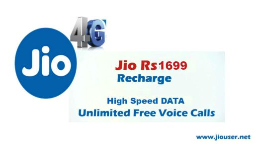 Jio 1699 Annual Recharge Plan