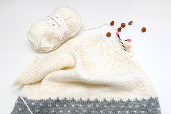 Breipatroon fair isle voor beginners