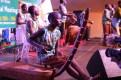 Ugandan musicians entertained participants.