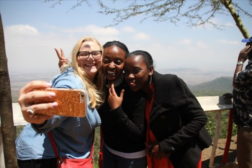 We took lots of photos at the Great Rift Valley!