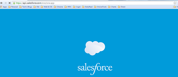 Access Salesforce1 from Browser