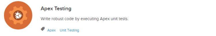 Trailhead - Apex Testing