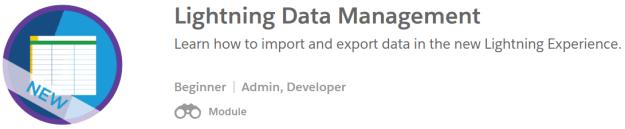 Lightning Data Management