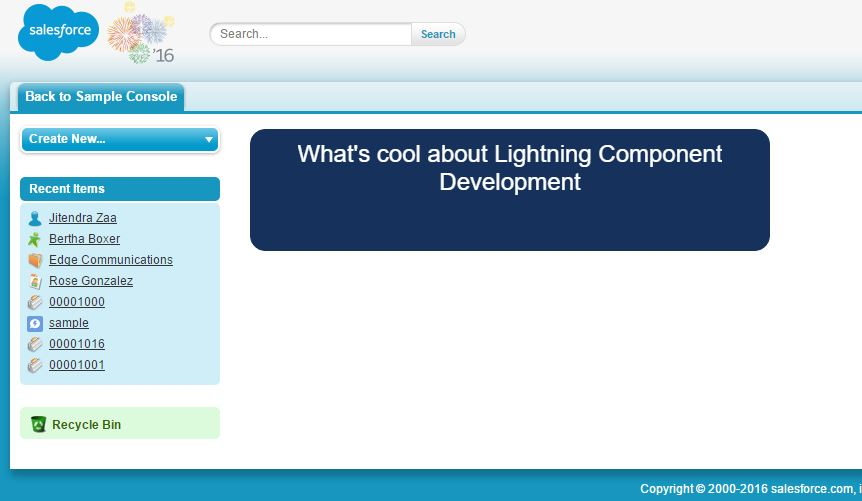Use Lightning Components in Visualforce Pages