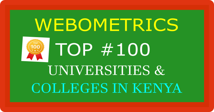 Top-100-universities and Colleges rankings in Kenya