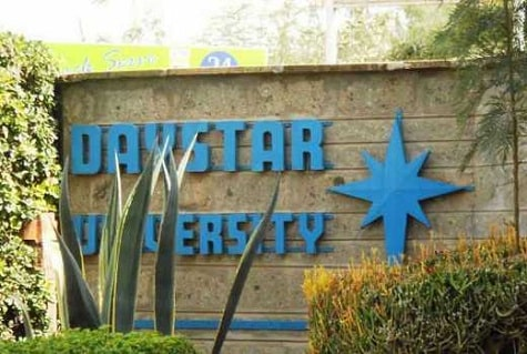 Courses offered at Daystar University and minimum qualifications required