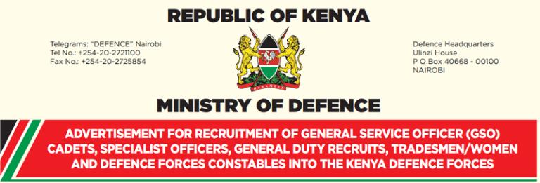 KDF Recruitment