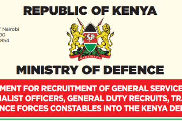 KDF Recruitment