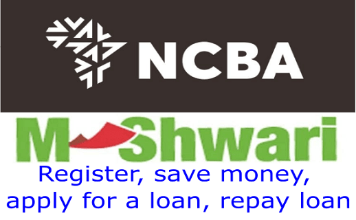 Apply for M-Shwari loan, save money, repay loan and interest rates
