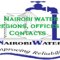 Nairobi Water regions, offices and contacts