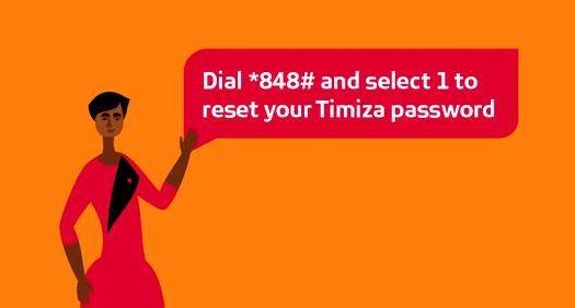 How to reset Timiza password