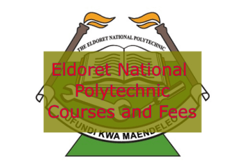 List of Courses offered at the Eldoret National Polytechnic