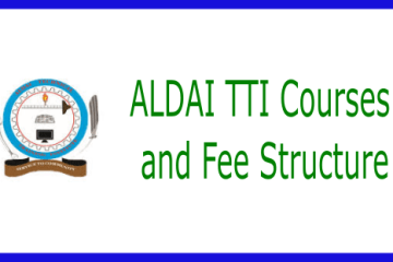 ALDAI Technical Training Institute courses and fees