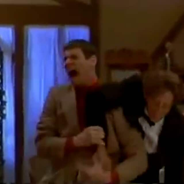 Dumb and Dumber fight scene (Full clip on our Facebook page