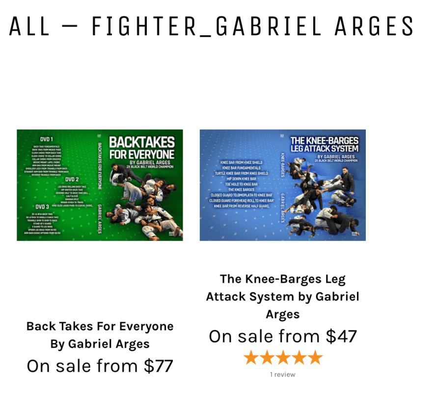 Gabriel Arges BJJ Techniques