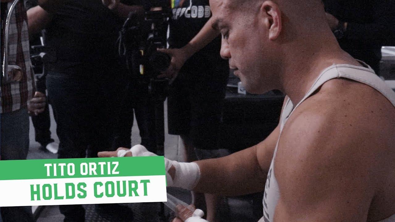 Tito Ortiz Holds Court: Talks Conor McGregor, Chuck Liddell