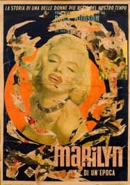Mimmo Rotella, Marilyn, 1963-64, Plakatabriss, 133 x 94 cmAgnes & Frits Becht Collection© 2014 ProLitteris, Zürich; Foto: Thijn van de Ven