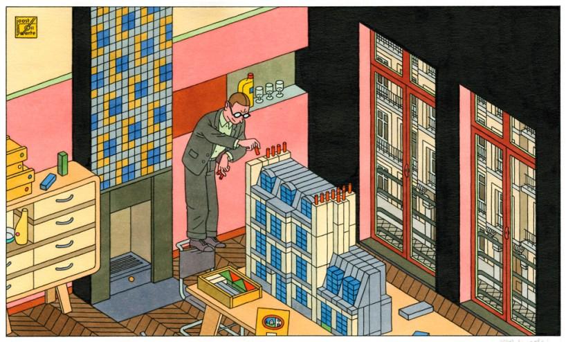 «Paris in abstrahierter Form», 2011, Piezografie
