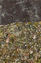 Jean Dubuffet J'habite un riant pays, 1956 Öl auf Leinwand, 146 x 96 cm Collection of Charlotte and Herbert S. Wagner III © 2015, ProLitteris, Zürich Foto: © Acquavella Modern Art