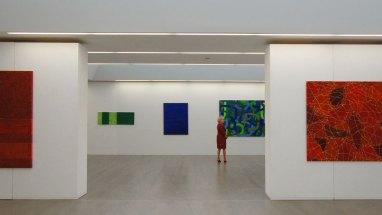 Licht-Farbe-Stofflichkeit. Erika Maria Riemer-Sartory, Ausstellungsansicht