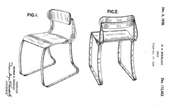 chair design patent rocking woodworking the mighty ironrite health d 112 453