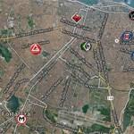 Mapa do Jiu Jitsu em Fortaleza