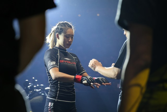 Angela Lee - Pre-Fight
