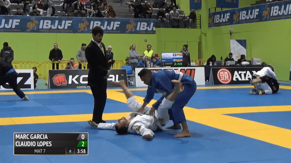 Jiu-Jitsu Competitor Knocked Out, Ref Doesn't Seem To Care
