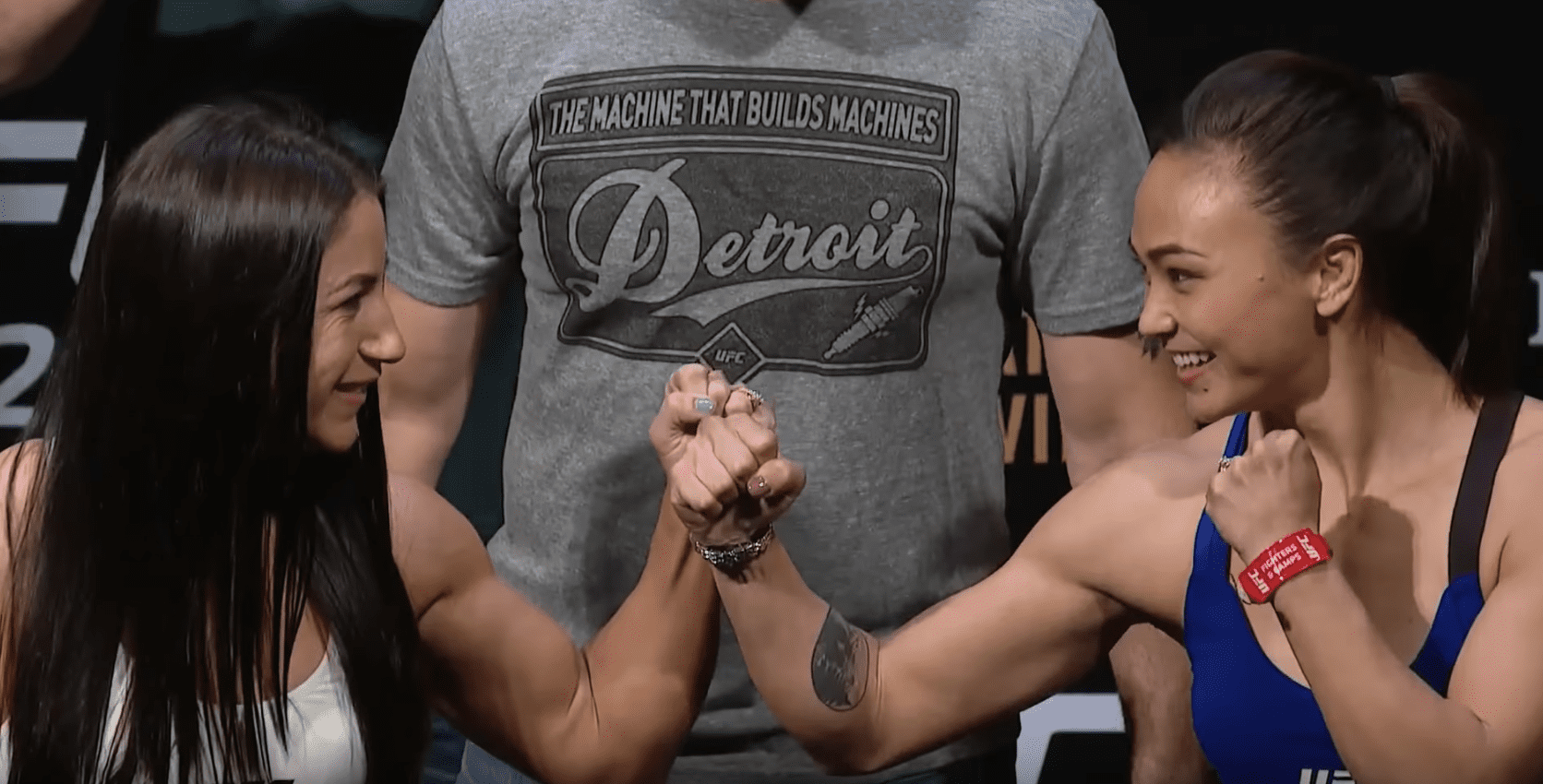 Tecia Torres Outworks Michelle Waterson In Detroit