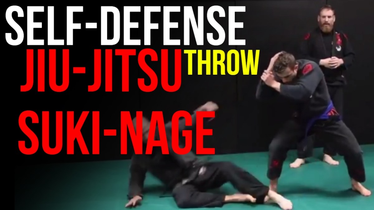 4 Ways To Suki Nage: Jiu-Jitsu Throw And Self-Defense Takedown