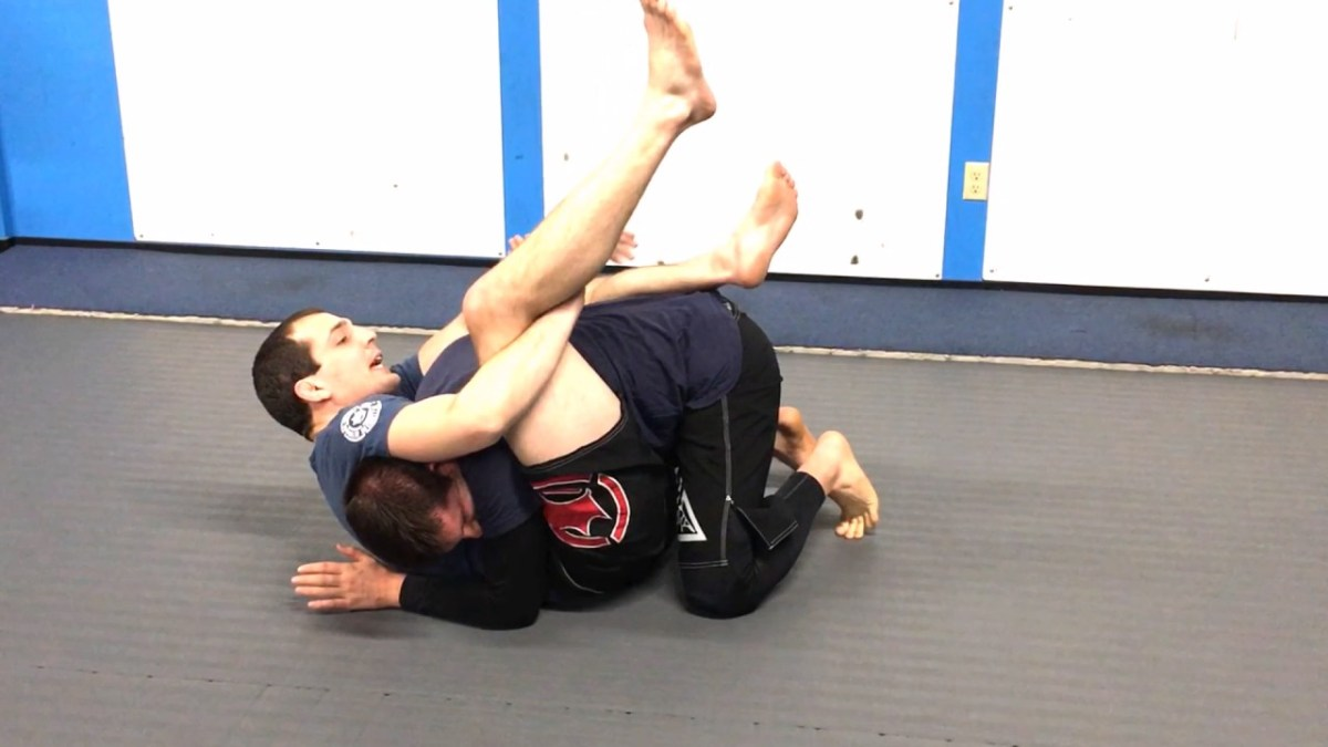 Here's A Choke From Guard Your Opponent Will Never See Coming