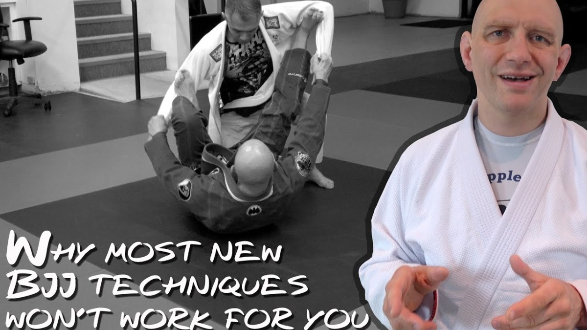 Stephan Kesting Explains Why Most New BJJ Techniques Won't Work For You