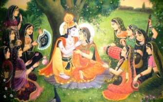 Krsna and Gopis / JIVA