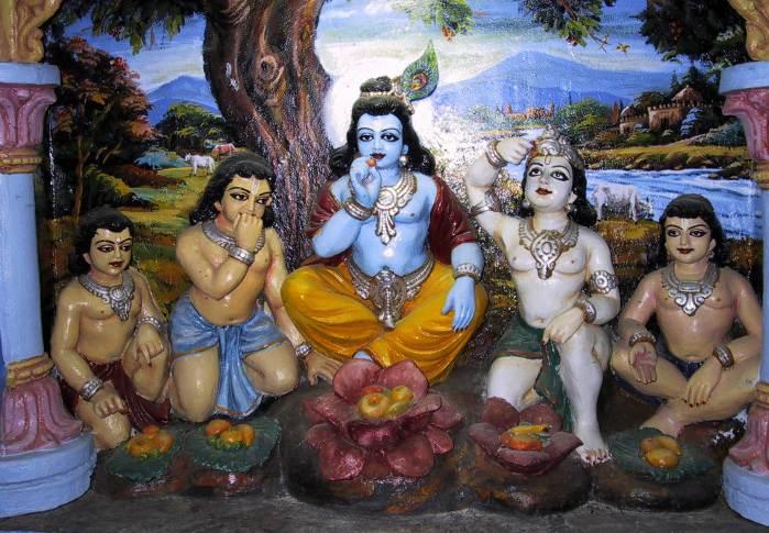 Krishna and dopas