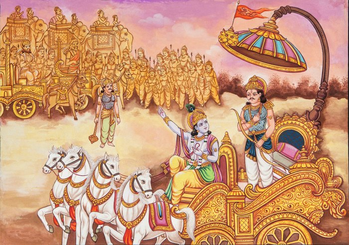 Battlefield of Kurukshetra (c) Jiva Institure