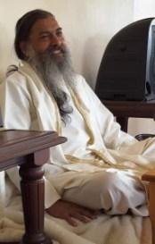 Babaji lecturing