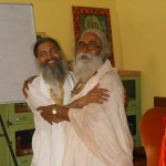 Catur Mahant and Babaji at Jiva 2013