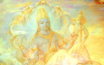 Sri Visnu painting