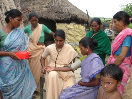 Health Projects by Jivandeep Seva Sansthan in India