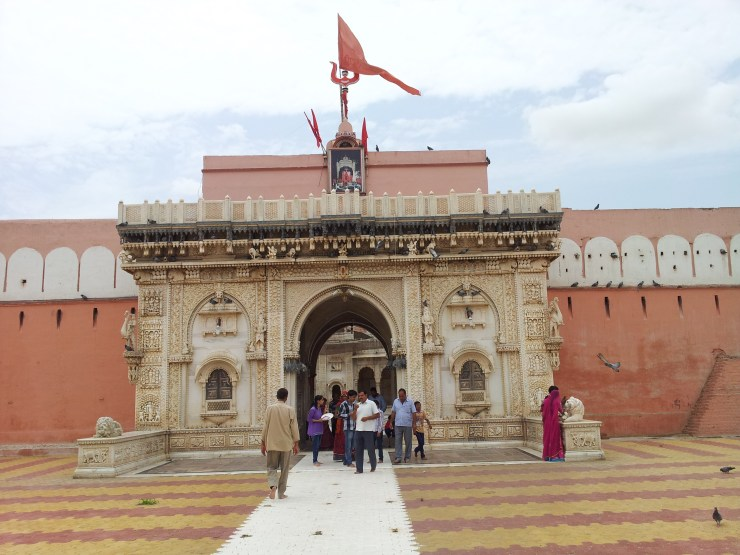 Karni Mata Temple - Bikaner - Rajasthan - India