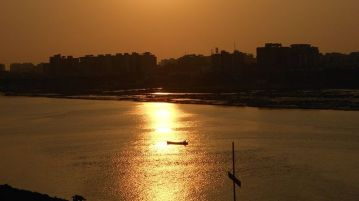 Tapi river - Surat - Gujrat - India