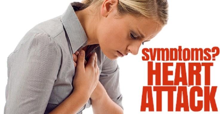 10 Symptoms of Heart Attack in women