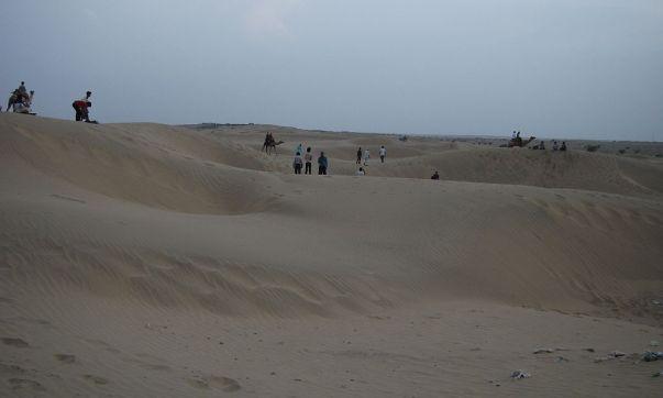 Sand Sunes in Jaisalmer