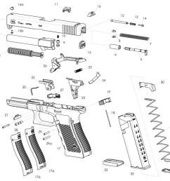 glock 19 parts diagram wiring diagram list glock schematic diagram moreover glock 17 parts diagram [ 1341 x 1029 Pixel ]