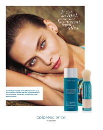 Advertentie voor Colorscience