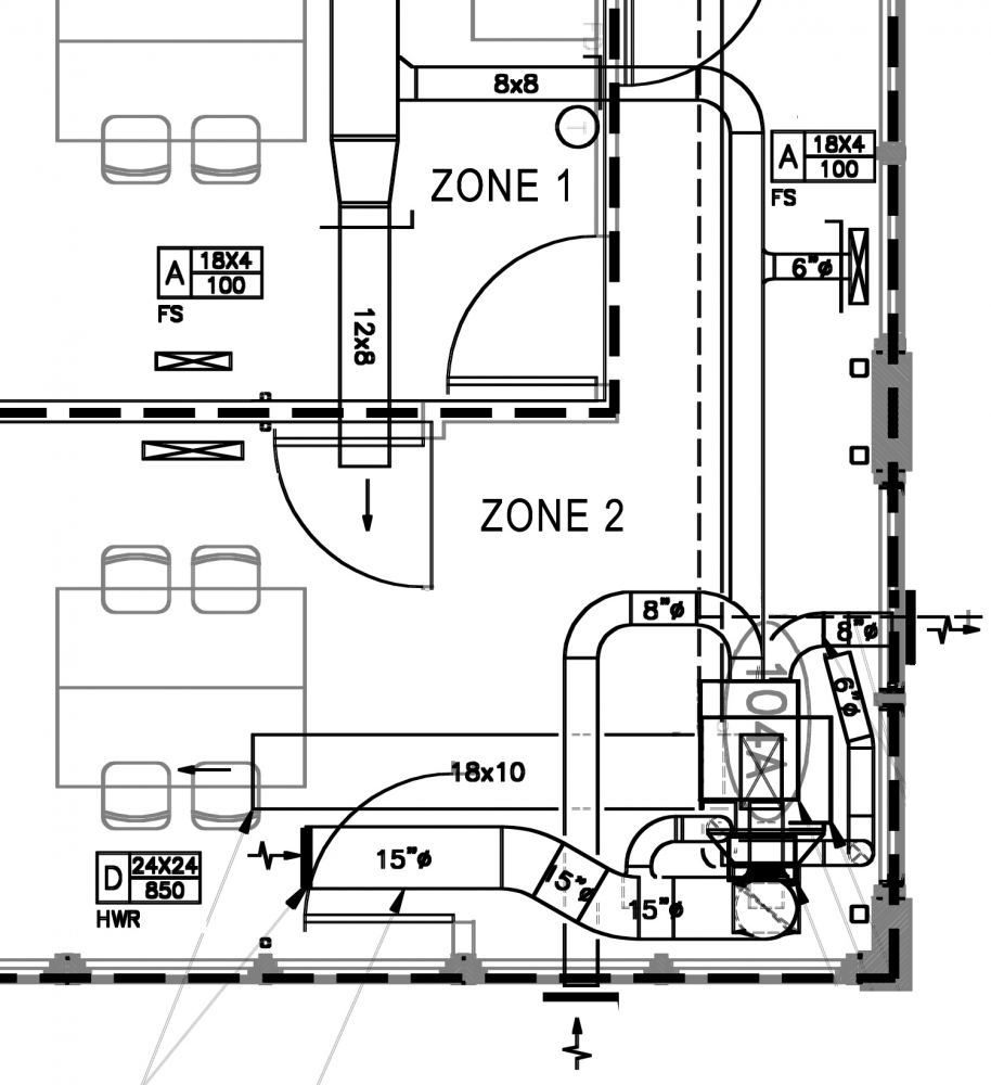 medium resolution of hvac system drawing picture