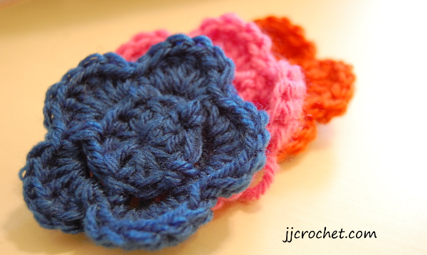 Crochet Flower Pattern Pictures Jjcrochet