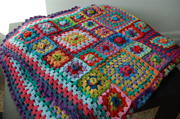 The Fourth Final Finished Afghan