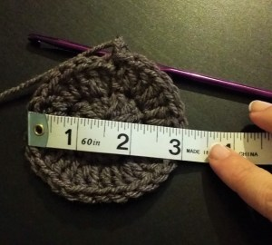 mens crochet hat pattern gauge