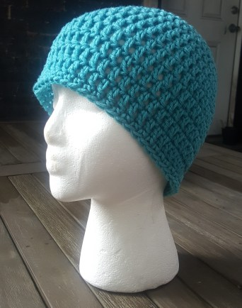 Easy Men's Crochet Hat Pattern